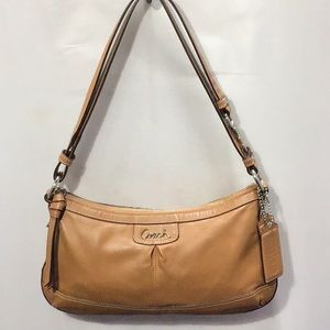 Coach British Tan Leather Shoulder Bag/Crossbody